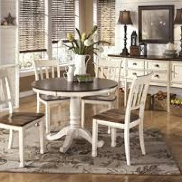 Whitesburg 5 Piece Round Dining Table WAS 499 NOW 399